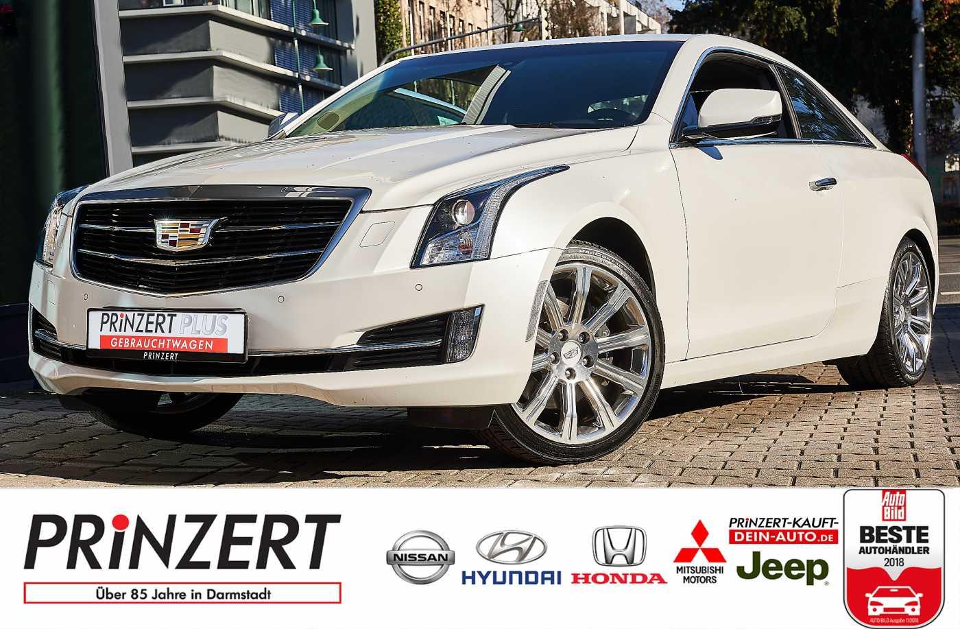 Cadillac ATS Coupe 2.0L Turbo Automatik Luxury, Jahr 2016, Benzin