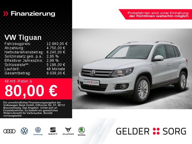 Volkswagen Tiguan 2.0 TDI BMT Sport & Style AHK, Jahr 2014, Diesel