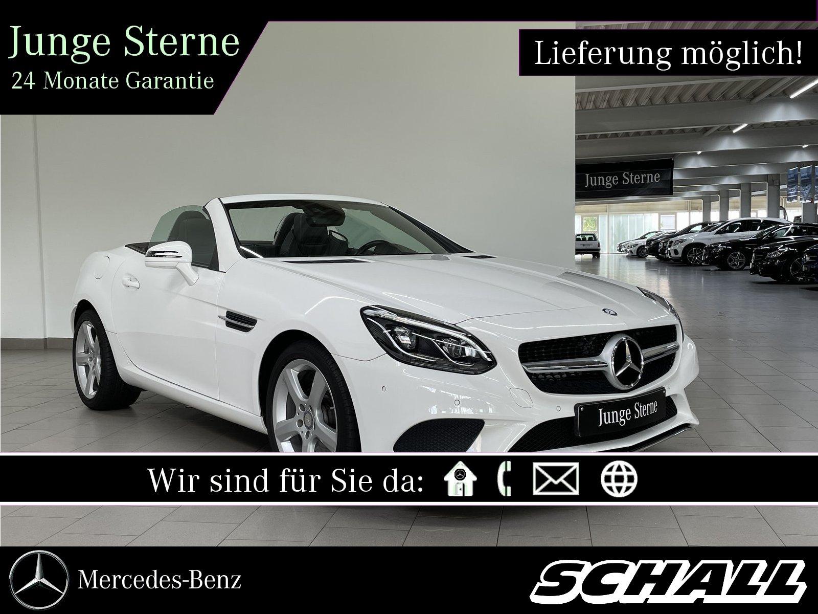 Mercedes-Benz SLC 200 AIRSCARF+LEDER+LED ILS+COMAND+TOTWINKEL, Jahr 2016, Benzin