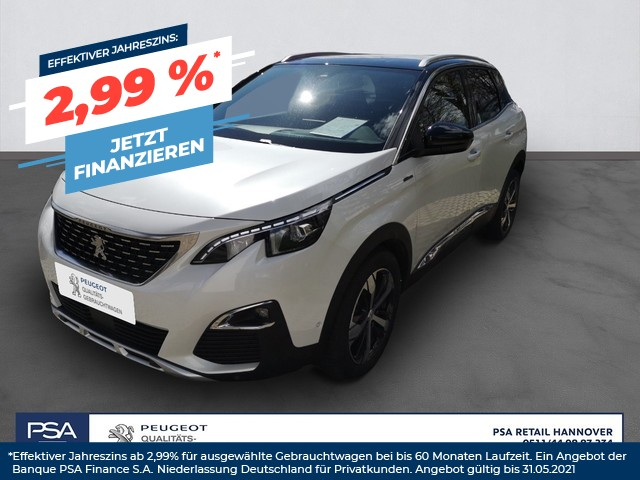 Peugeot 3008 PureTech 180 Stop & Start GPF EAT8 Allure,3D-NAVI,LEDER, Jahr 2019, Benzin