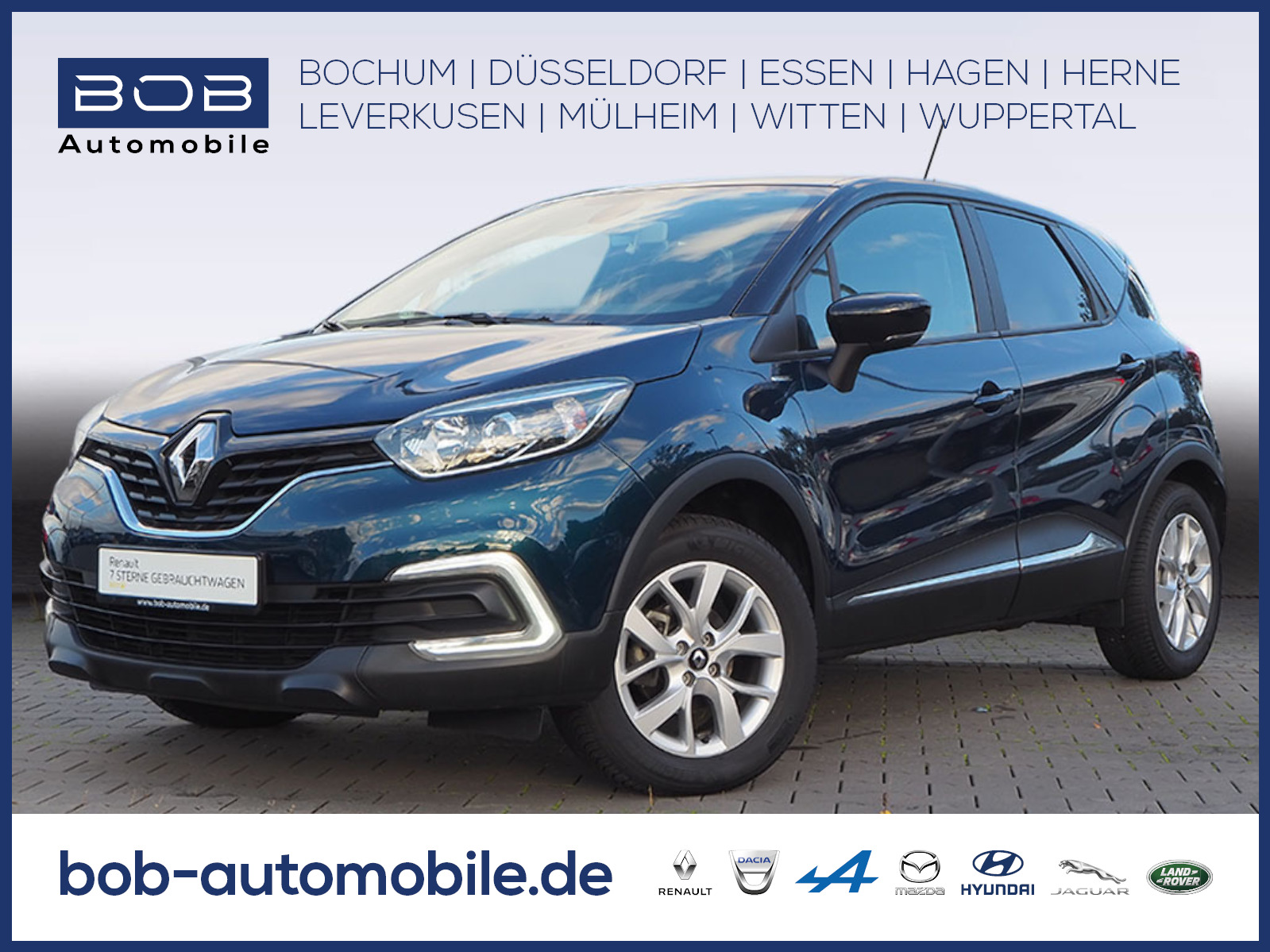 Renault Captur TCe 90 Limited NAVI SHZ KLIMA PDC LM BT, Jahr 2019, Benzin