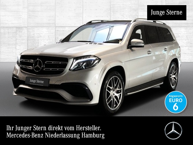Mercedes-Benz GLS 63 AMG 4M Driversp Perf-Lenk 360° Airmat Pano, Jahr 2017, petrol