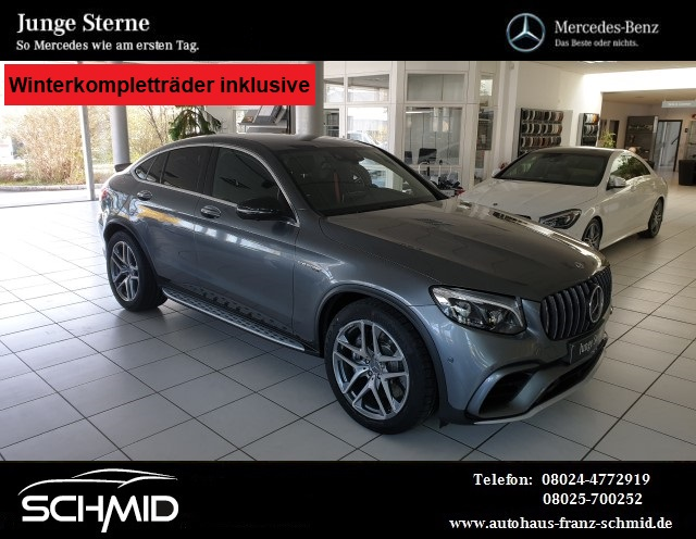 Mercedes-Benz GLC 63 AMG Coupe Performance Carbon TV NP 111277, Jahr 2017, Benzin