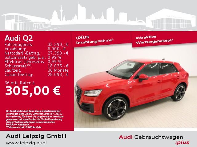 Audi Q2 35 TFSI sport S tronic *S-line*LED*Navi*AHK*, Jahr 2020, Benzin