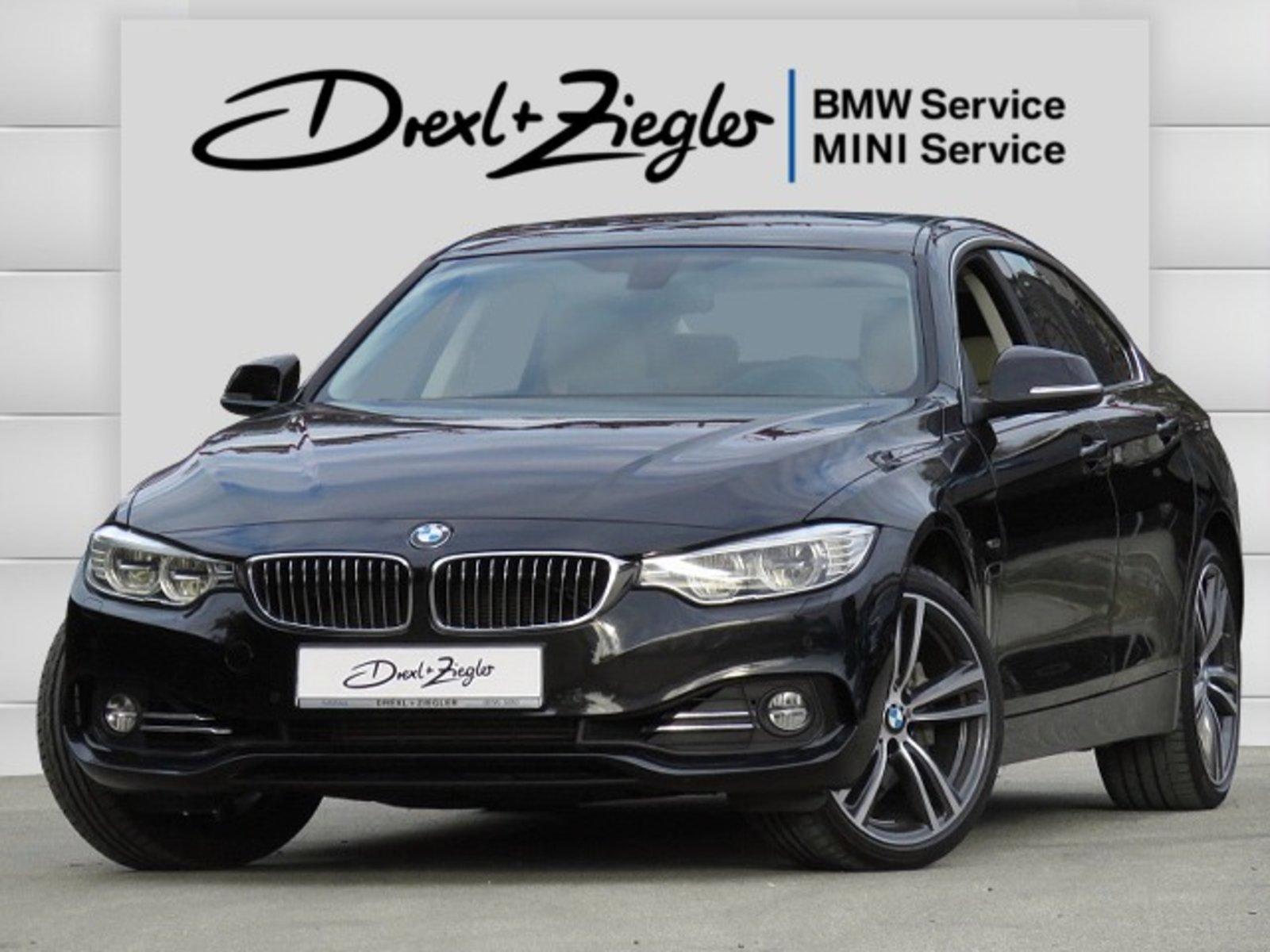 BMW 435d xDrive Gran Coupe Navi HUD DAB HiFi Alu19, Jahr 2014, Diesel