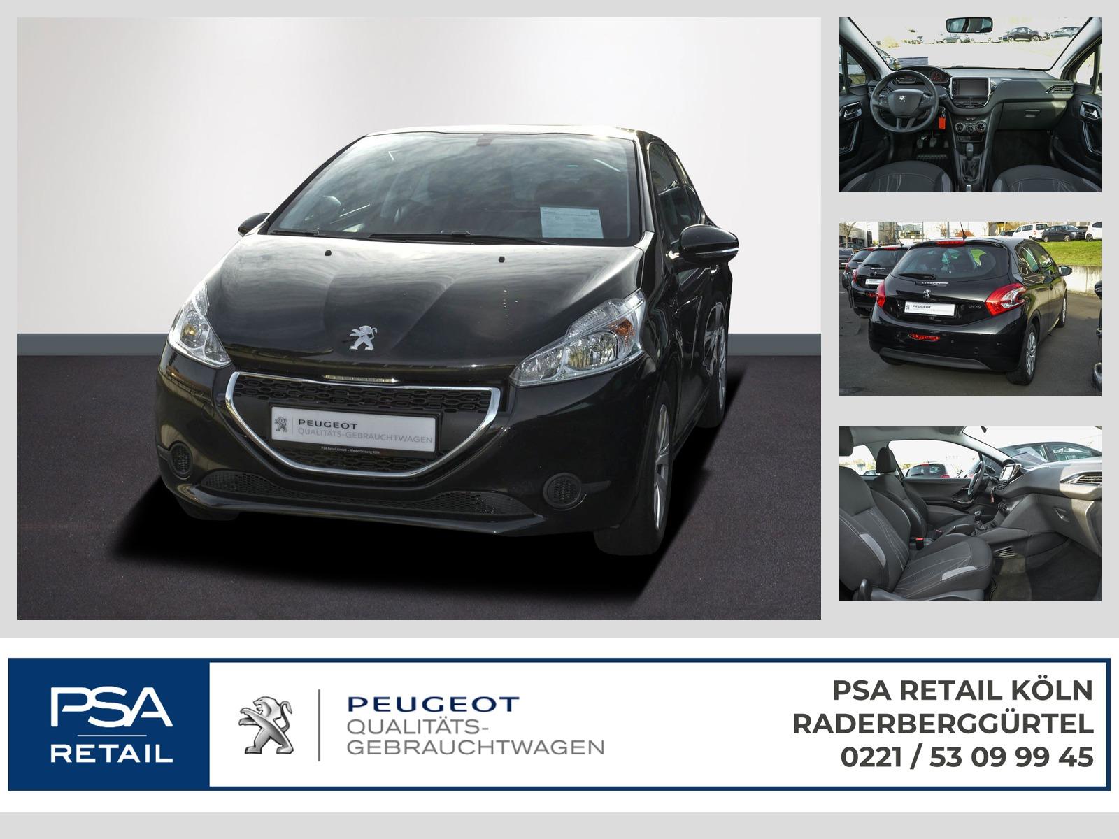 Peugeot 208 ACTIVE PureTech 82 KLIMA PDC TOUCHSCREEN, Jahr 2015, petrol