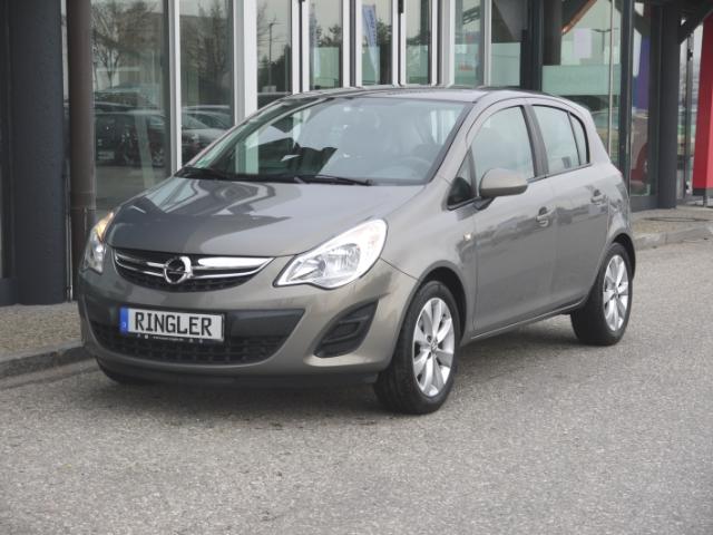 Opel Corsa Active 1.4 Klima Tempom.16''Alu CD-Radio+AuxIn+MP3 ESP Seitenairb. BC Scheckheft met. Radio, Jahr 2013, Benzin