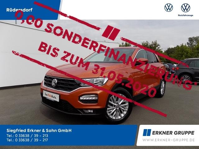 Volkswagen T-Roc 1.6TDI NAVI SHZ PDC GJR FSE KLIMA, Jahr 2018, Diesel