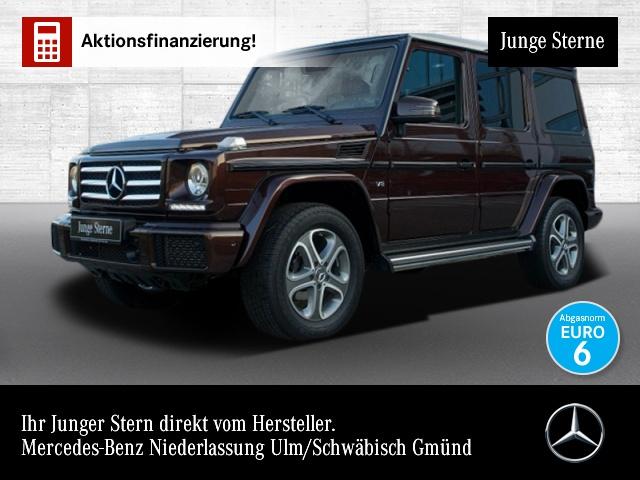 Mercedes-Benz G 500 Exklusiv Distronic Comand Harman SHD Kamer, Jahr 2016, petrol