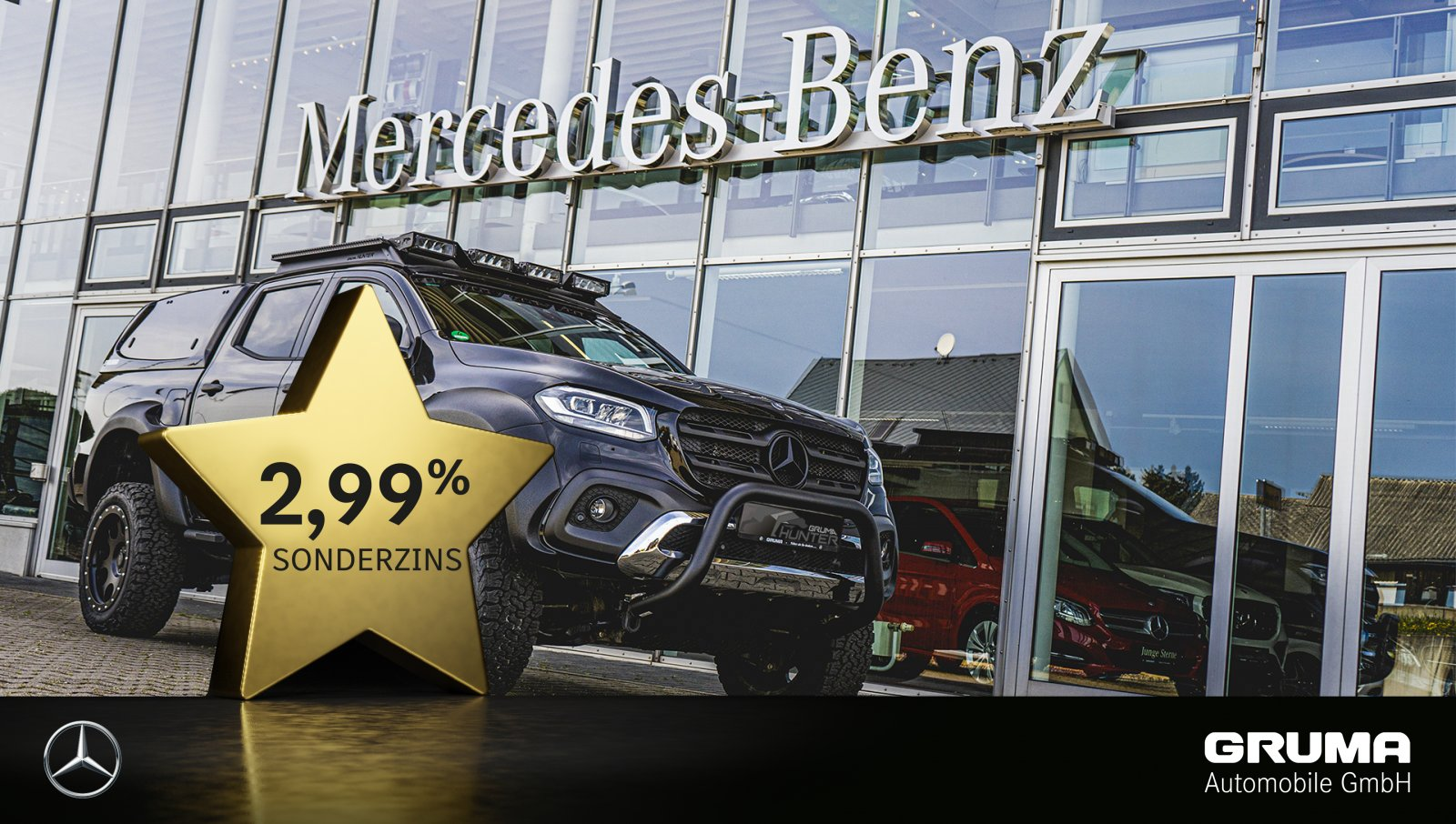 Mercedes-Benz X 350d 4M POWER EDT *HUNTER UMBAU* AHZV+LED+360+, Jahr 2018, Diesel