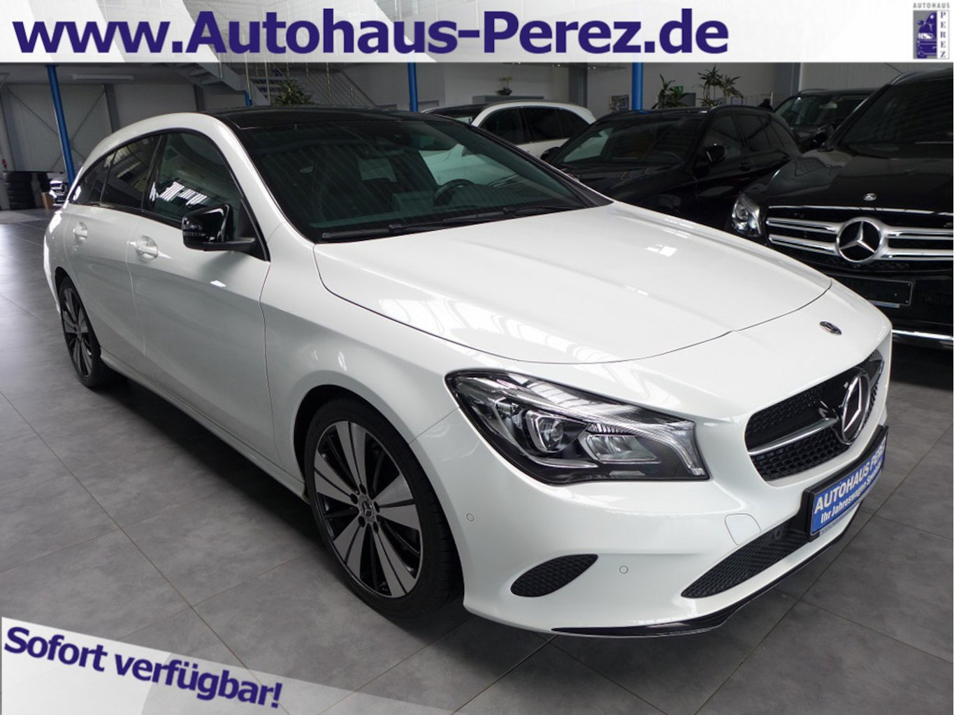 Mercedes-Benz CLA 250 Shooting Brake 7-G Urban NIGHT-AHK-PANO, Jahr 2018, Benzin