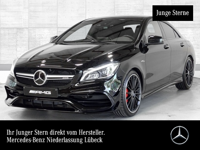 Mercedes-Benz CLA 45 4MATIC Coupé Sportpaket Bluetooth Navi LED, Jahr 2017, Benzin