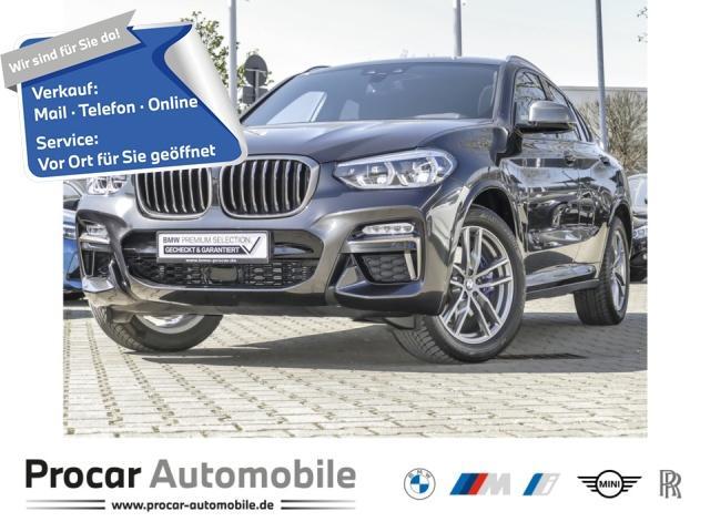 BMW X4 M40i Navi Prof Pano HuD HiFi Adapt. LED, Jahr 2019, Benzin