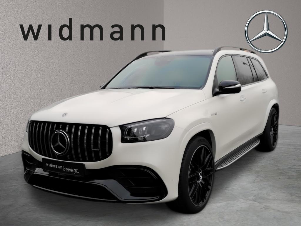 Mercedes-Benz GLS 63 4MATIC+ AMG *Night-P*LED*Park-P*360°*MBUX, Jahr 2020, Benzin