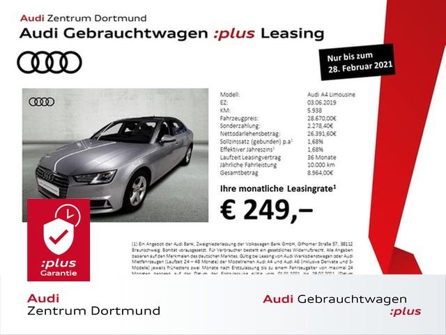 Audi A4 Limousine sport 35TFSI Navi+/Sitzhzg./APS+, Jahr 2019, Benzin