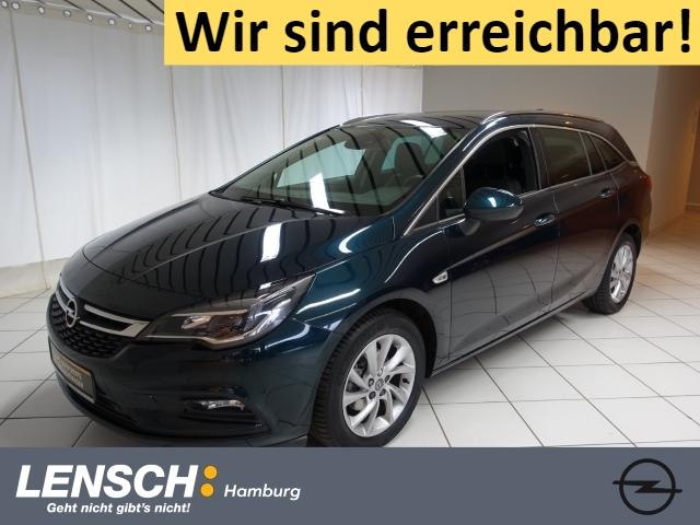 Opel Astra K 1.4 ST Innovation AUTOM+AHK+NAVI+SITZHZG, Jahr 2017, Benzin