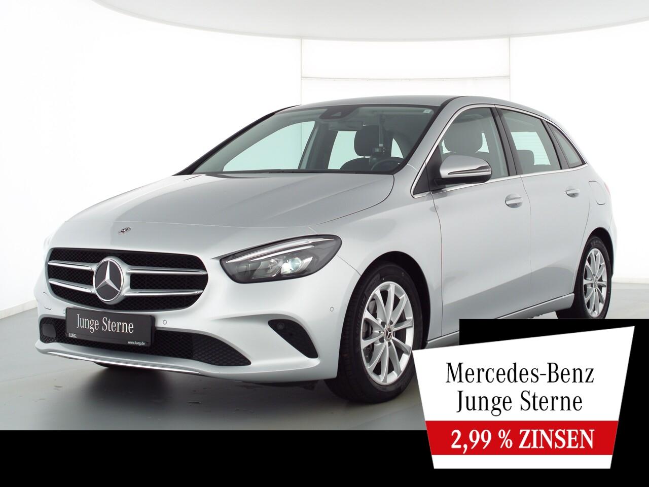 Mercedes-Benz B 180 d Progressive+MBUX+NaviPrem+LED-HP+AHK+RFK, Jahr 2020, Diesel