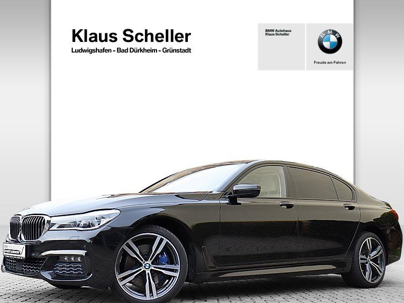 BMW 750d Ld xDrive Limousine Ferngesteuertes Parken, Jahr 2017, Diesel