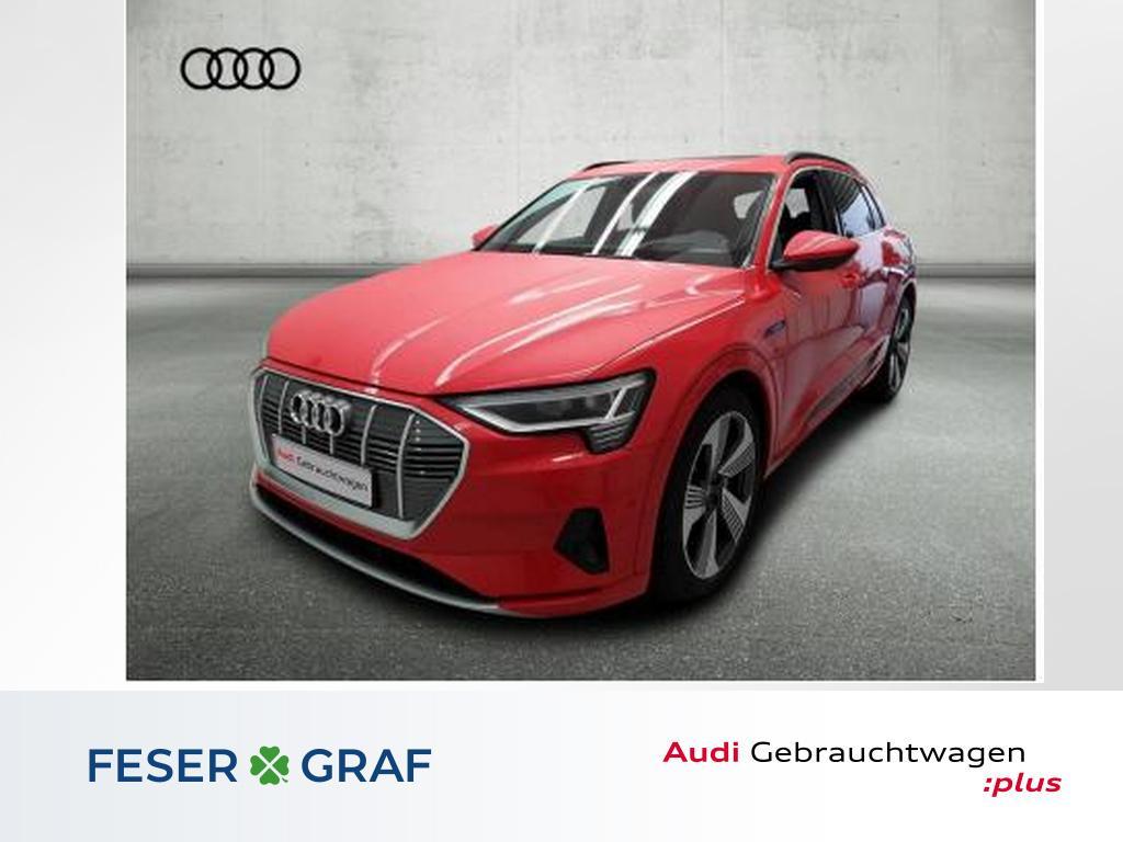 Audi e-tron 55 adv. Matrix/HuD/Pano/ACC/B&O/21 Zoll, Jahr 2019, Elektro