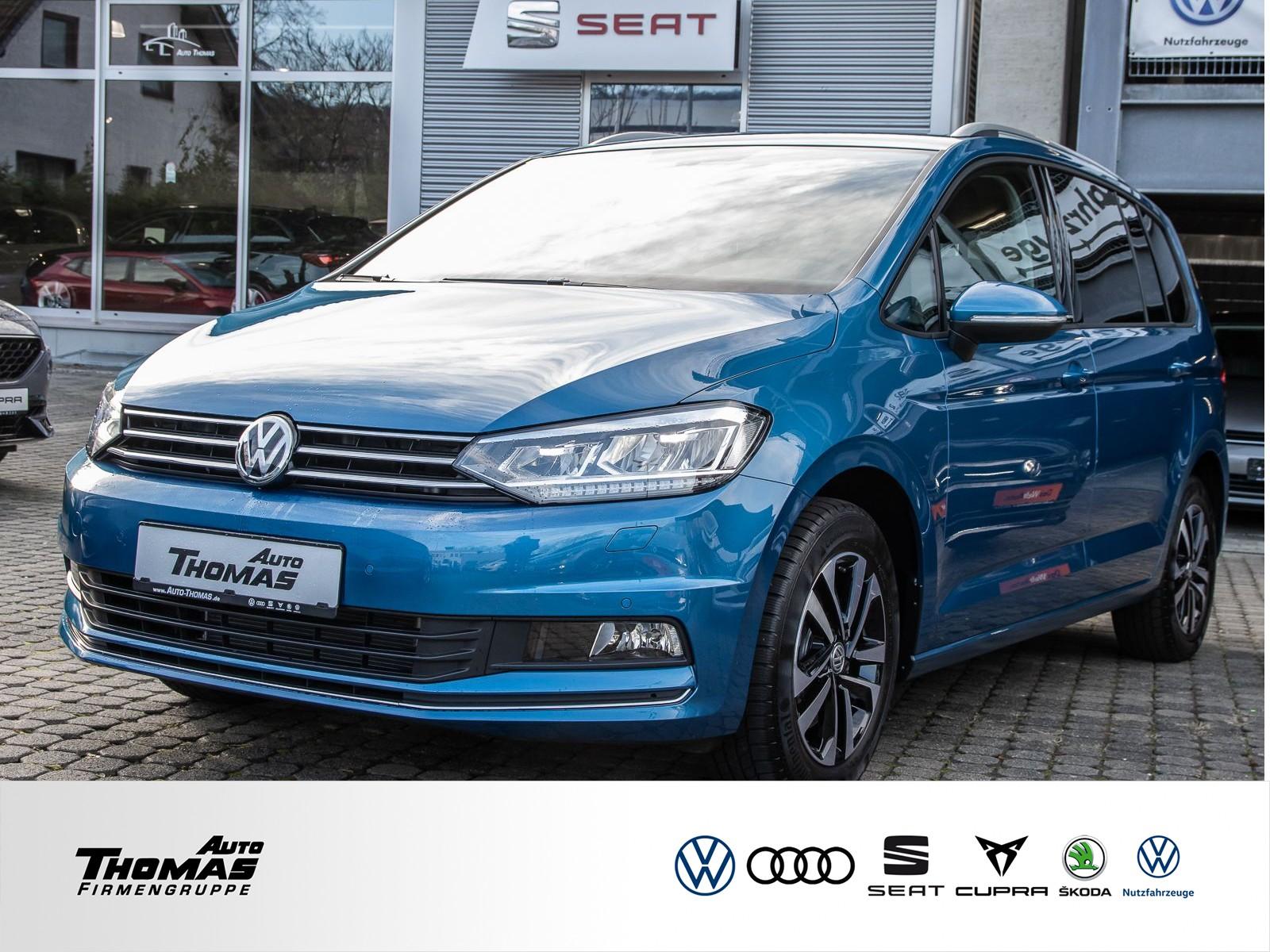 "Volkswagen Touran ""Comfortline"" 1.5 TSI DSG LED+NAVI+STDHZG, Jahr 2020, petrol"
