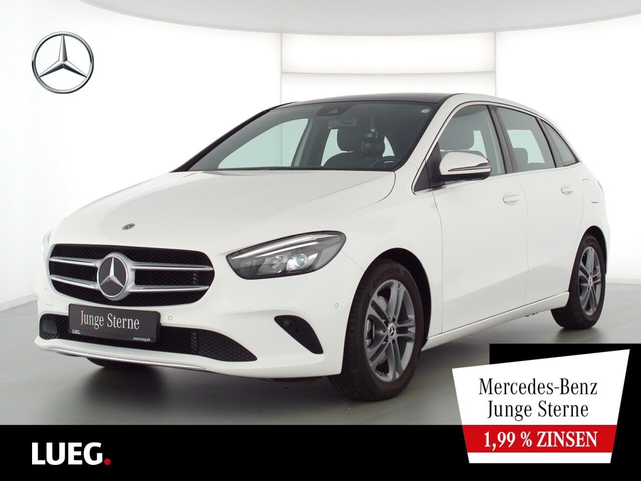 Mercedes-Benz B 220 4M Progressive+MBUX+NavPr+PD+LED+Sthzg+RFK, Jahr 2019, Benzin