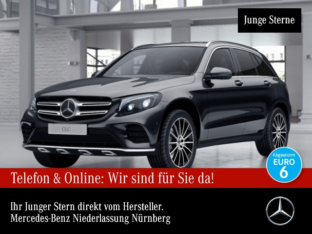 Mercedes-Benz GLC 350 d 4M AMG Fahrass 360° Stdhzg Distr., Jahr 2017, Diesel