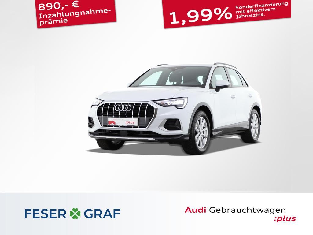 Audi Q3 advanced 35 TDI S tronic Virtual/Leder/Alu-18, Jahr 2021, Diesel