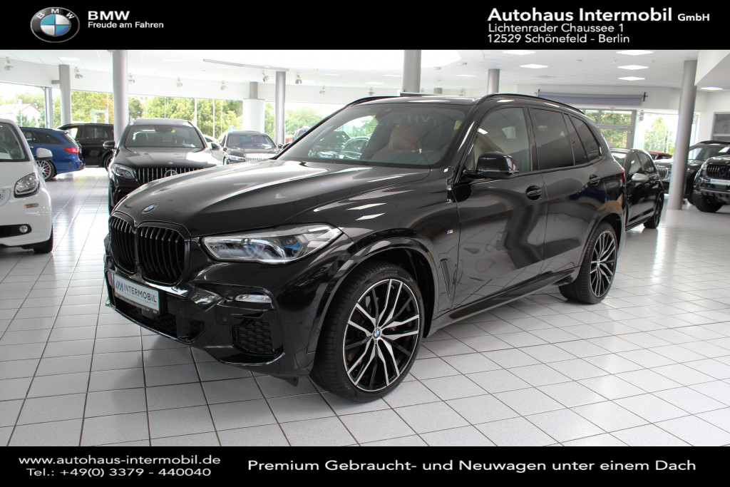 BMW X5 xDrive30d M-Sport *7-Sitzer*Pano*H-K*DAB*360°, Jahr 2020, Diesel