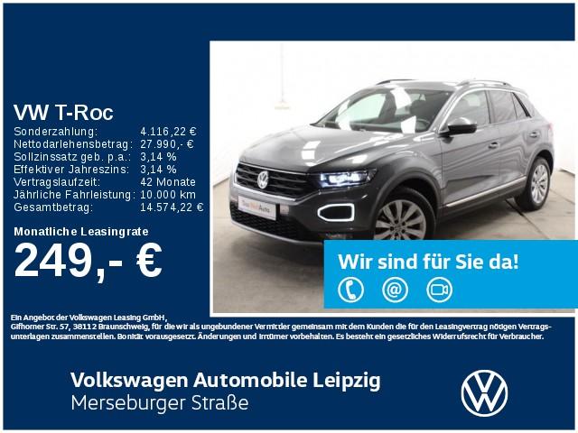 Volkswagen T-Roc 1.5 TSI Sport *DSG*LED*ACC*Navi*SHZ*, Jahr 2019, Benzin