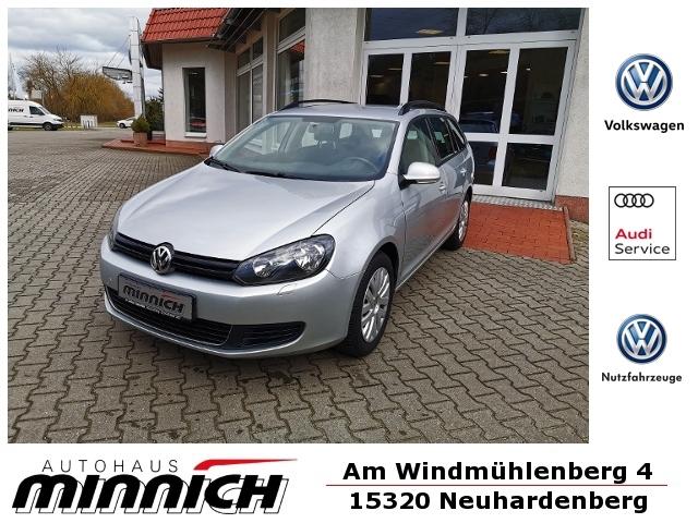Volkswagen Golf VI 1.6 TDI Kombi Trendline KLIMA, Jahr 2013, Diesel