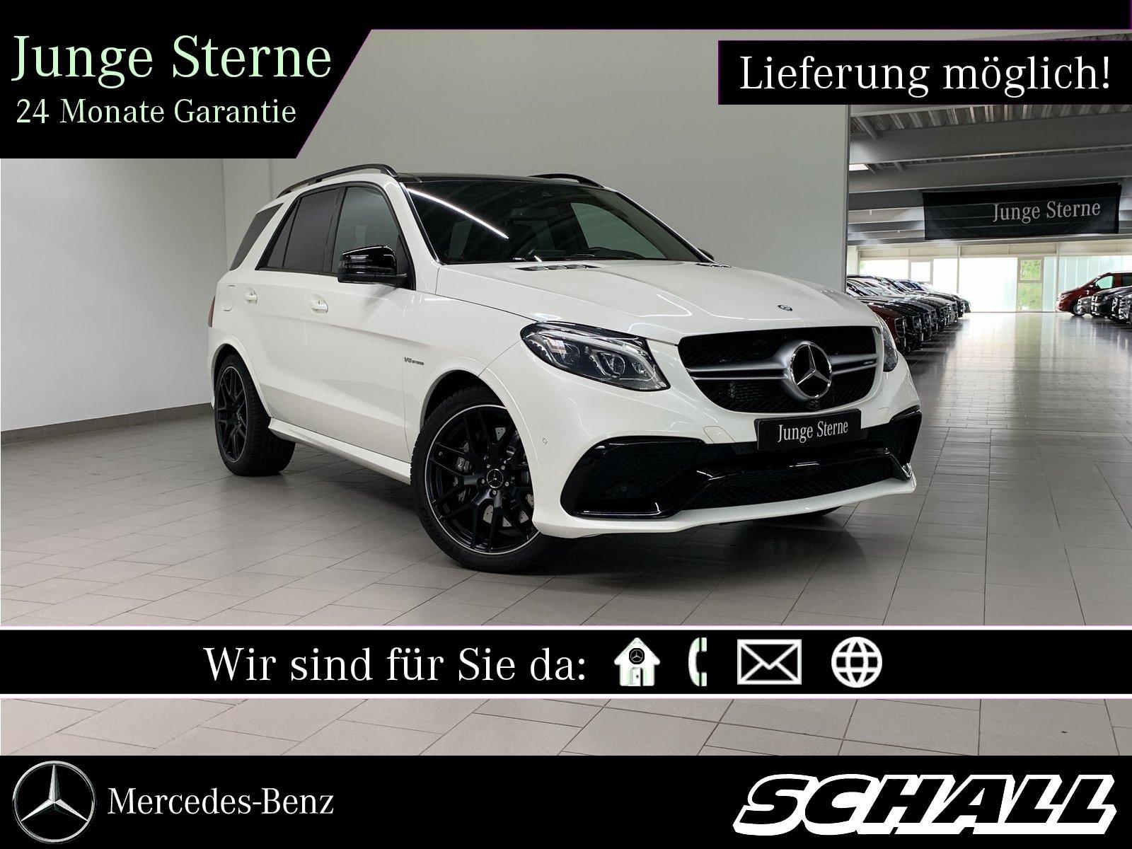"Mercedes-Benz GLE 63 AMG 4M NIGHT+ACTIVE CURVE+21""AMG+LED+360°, Jahr 2017, petrol"