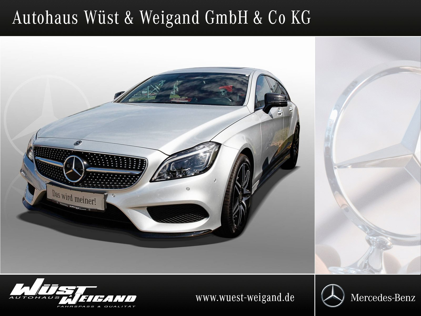 Mercedes-Benz CLS 500 4M SB AMG Styling+Distronic+Comand+LED, Jahr 2016, Benzin