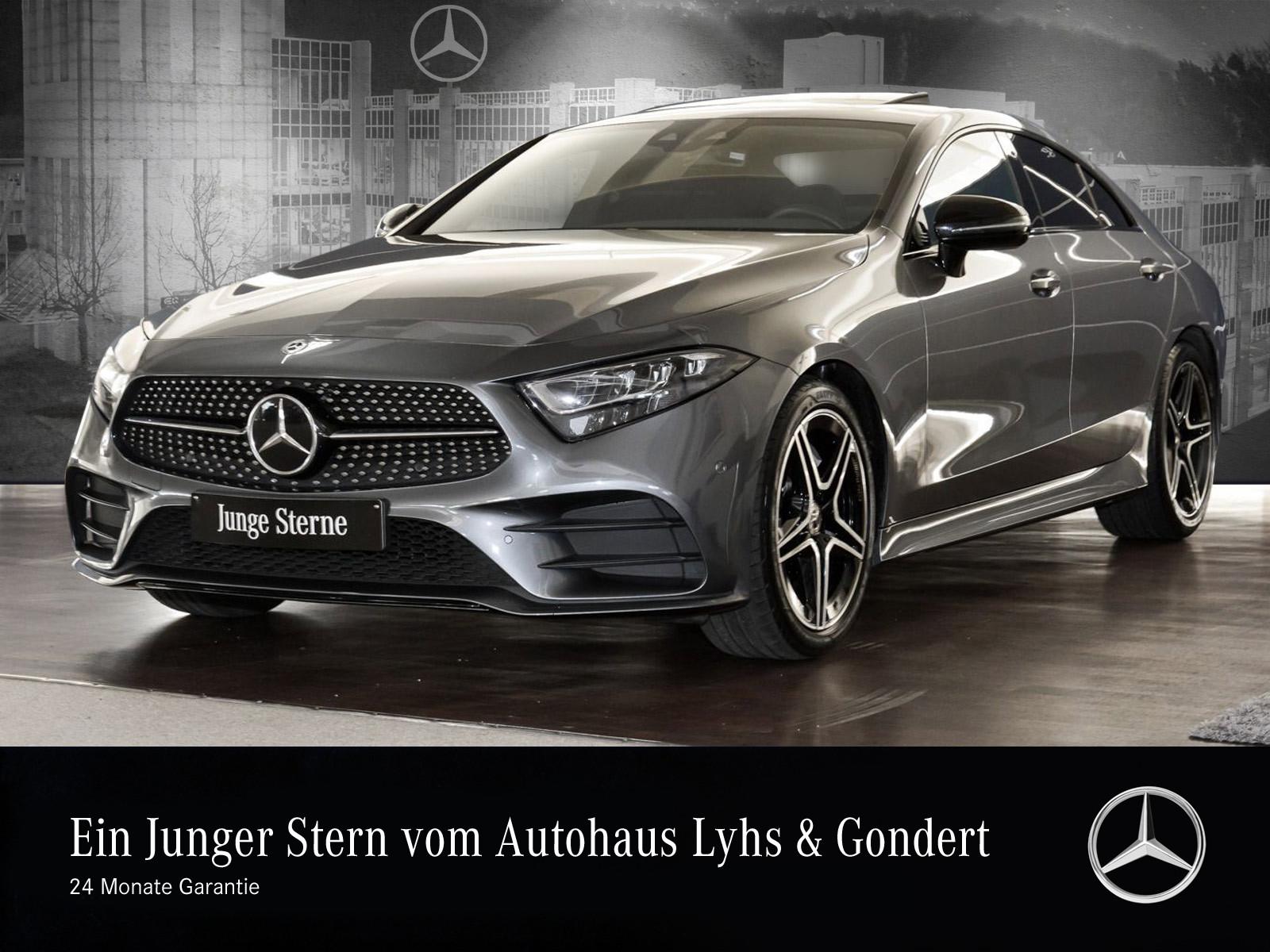 Mercedes-Benz CLS 300 d AMG Burmester Comand Distronic Night, Jahr 2018, Diesel