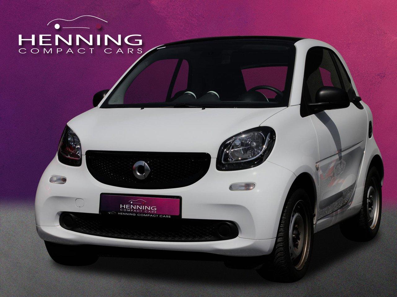 smart fortwo coupe (52kW) twinamic Pano Navi Sitzhzg., Jahr 2018, Benzin