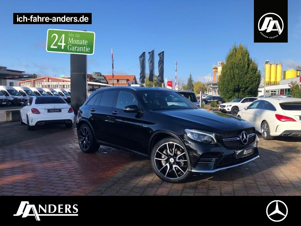 Mercedes-Benz GLC 43 AMG 4M Comand+HUD+LED+Memo+Kam+Sthz+Keyl., Jahr 2017, Benzin