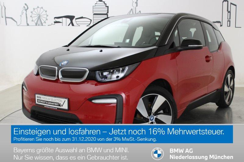 BMW i3 120Ah LED RFK Navi Prof. RTTI Wärmep. Shz, Jahr 2019, Elektro