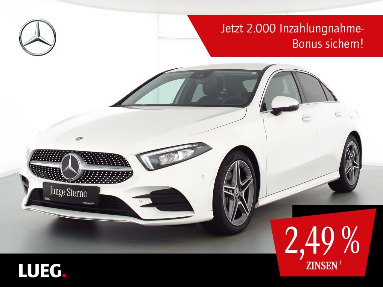 Mercedes-Benz A 180 d Lim AMG+MBUX+LED-HP+Sound+KeyGo+ParkA+RK, Jahr 2020, Diesel