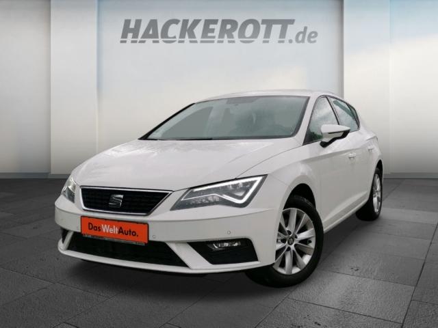 Seat Leon Style 1.5 TSI LED Navi Rückfahrkam. PDCv+h LED-hinten LED-Tagfahrlicht Tel.-Vorb., Jahr 2019, Benzin