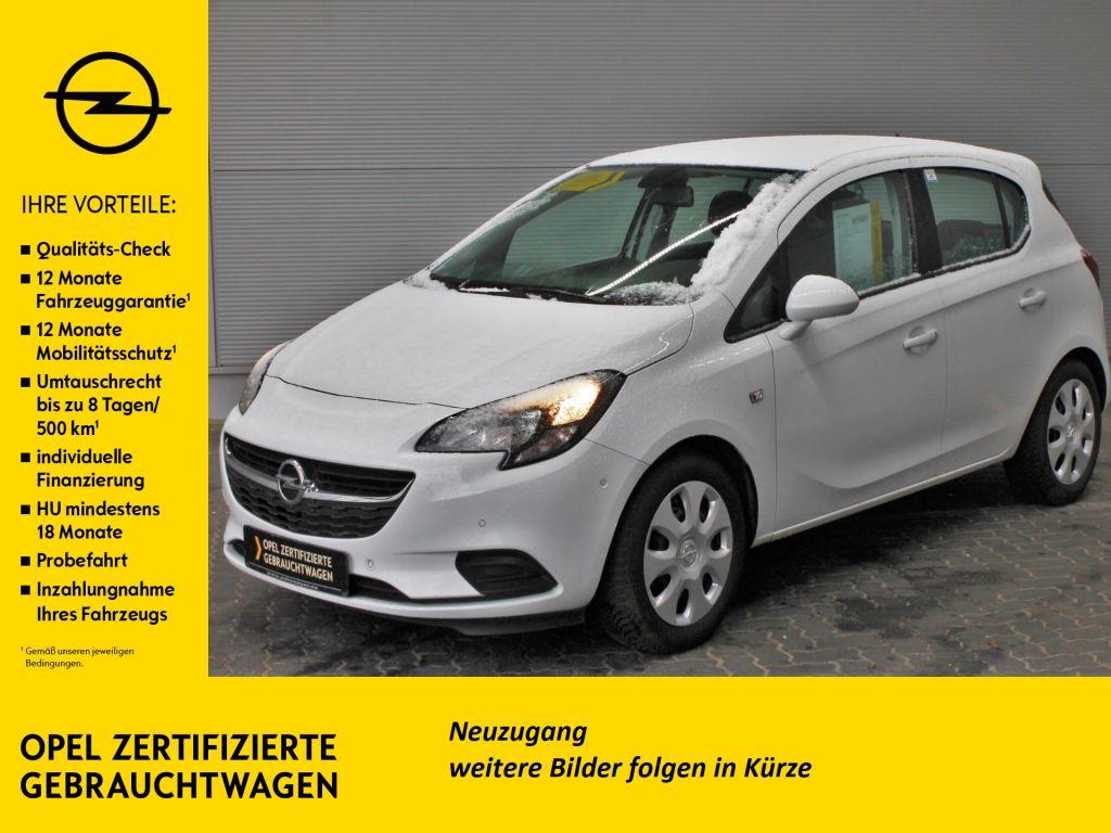 Opel Corsa 1.2 Edition PDC Parkassist. SHZ Allwetter, Jahr 2017, Benzin