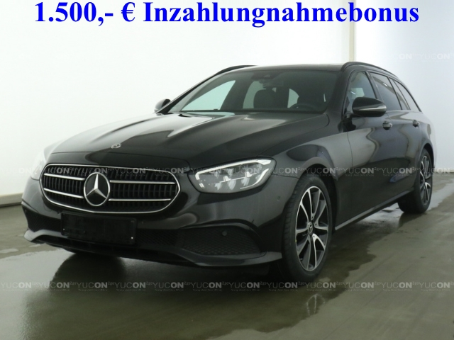 Mercedes-Benz E 200 T Avantgarde Night+MBUX High-End+SHD+Mopf, Jahr 2020, Benzin