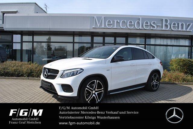 "Mercedes-Benz GLE 450 AMG AMG/Comand/PanoD/Night/360°/AHK/22"", Jahr 2016, petrol"