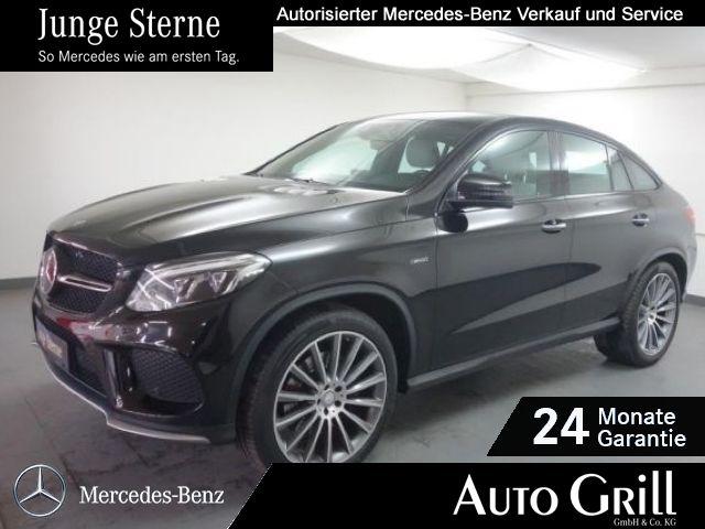 Mercedes-Benz GLE 43 AMG 450 ActiveCurve AHK Fahras+ 22Zoll, Jahr 2016, petrol