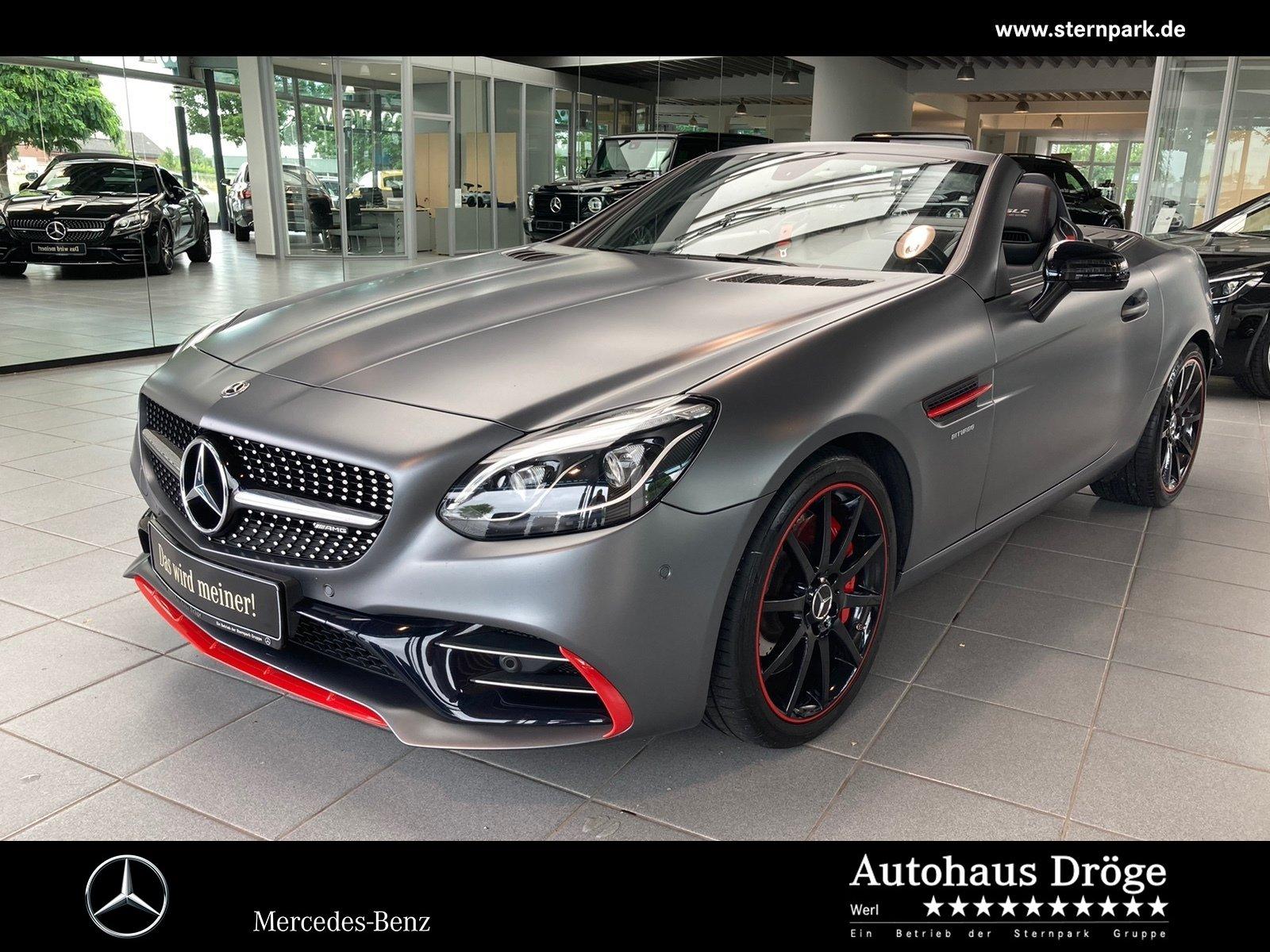 Mercedes-Benz SLC 43 AMG RedArt Edition Pano*Kamera*Leder*Navi, Jahr 2017, Benzin