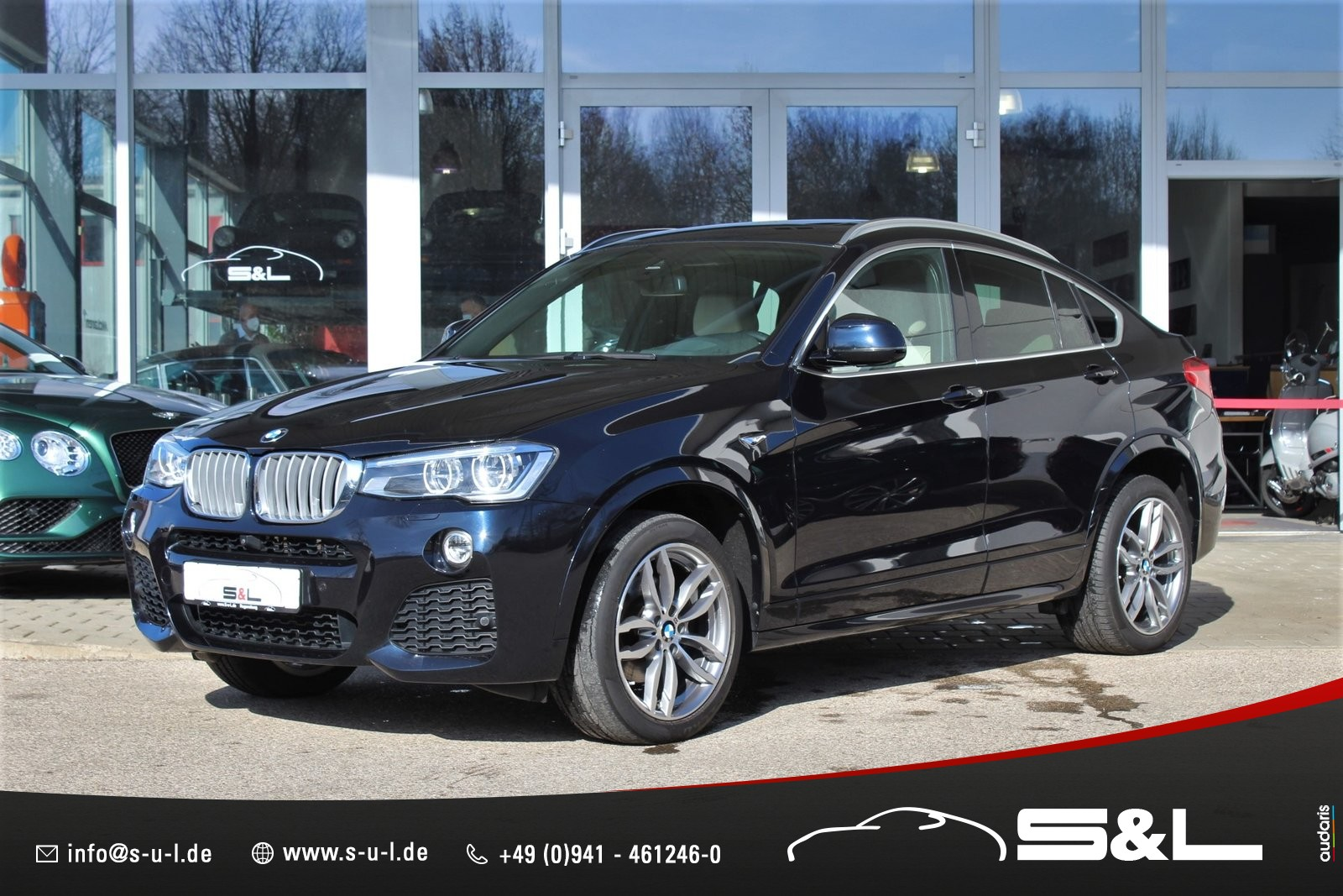 BMW X4 xDrive35d/ Connected/ M-Sport/ Harman-Kardon, Jahr 2015, Diesel