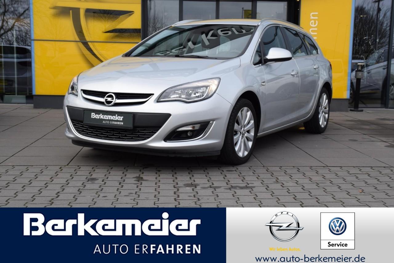 Opel Astra J ST Exklusiv 1.4/Klima/Parkpilot hinten/Rückfahrkamera, Jahr 2015, Benzin