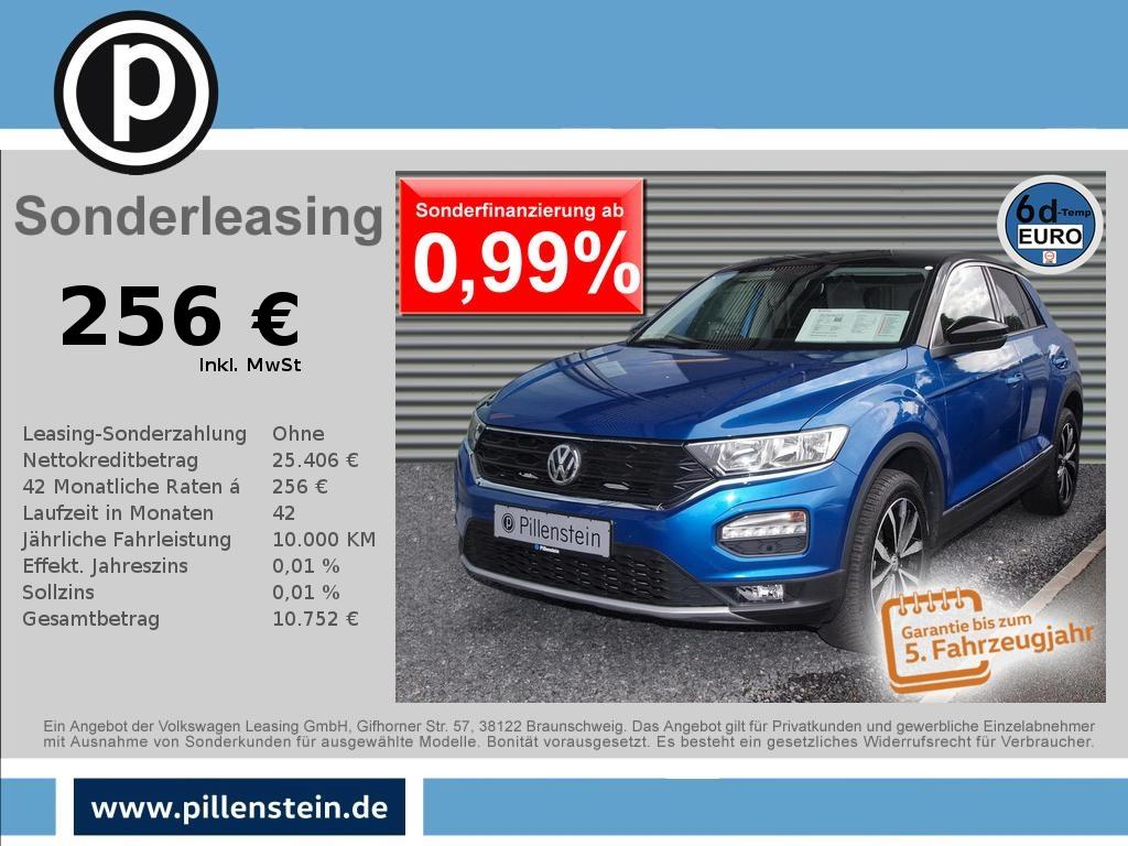 Volkswagen T-Roc Style 1.5 TSI ACTIV-INFO NAVI SITZH Alu-17, Jahr 2020, Benzin