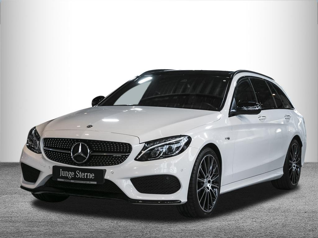 Mercedes-Benz C 43 AMG T 4M *Pano*Head-up*Comand*Multibeam*, Jahr 2017, Benzin