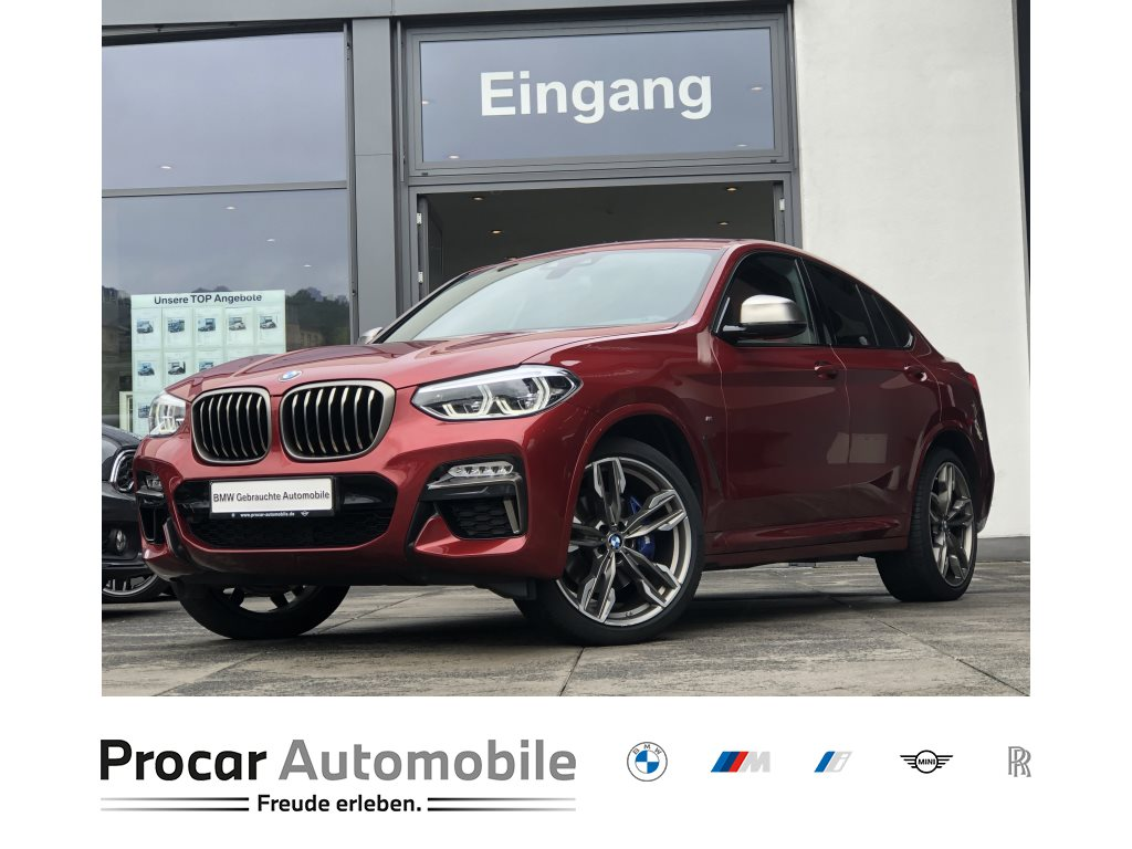 BMW X4 M40d 21 DA PA LED Standheizung HuD HiFi, Jahr 2018, Diesel