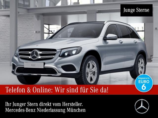 Mercedes-Benz GLC 350 d 4M Exclusive Pano Burmester Distr. PTS, Jahr 2017, Diesel
