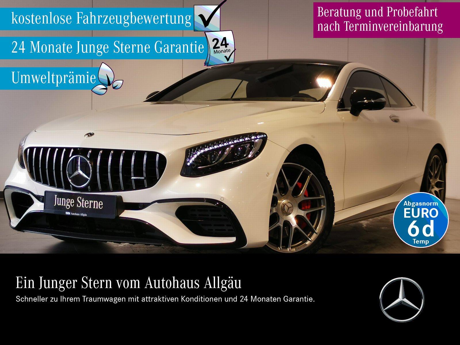 Mercedes-Benz S 63 AMG Coupe 4M+ VOLLAUS. NEUPREIS 227.874 EUR, Jahr 2018, Benzin